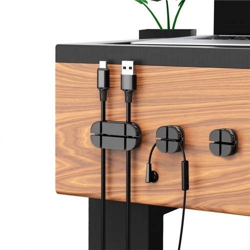 3-Piece Silicone Cable Organizer
