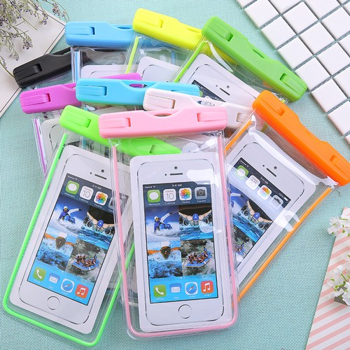 Universal Waterproof Phone Pouch For Cellphone- 2 or 4 Pack