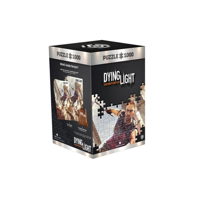 Cranes Fight (Dying Light) 1000 Piece Jigsaw Puzzle