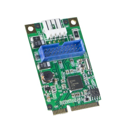 USB 3.0 19 Header Mini PCI-e 2.0 Card