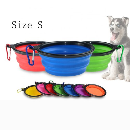 Collapsible Travel Water Bowl for Pets