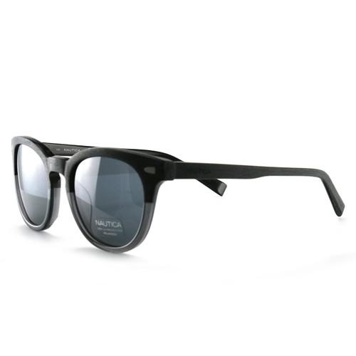 Nautica Women's Sunglasses N6218S 010 Wood 51 21 140 Polarized