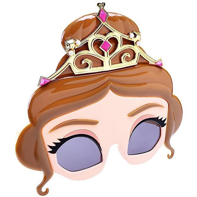 Belle Beauty and The Beast Sunstache Sunglasses Emma Watson Disney Princess