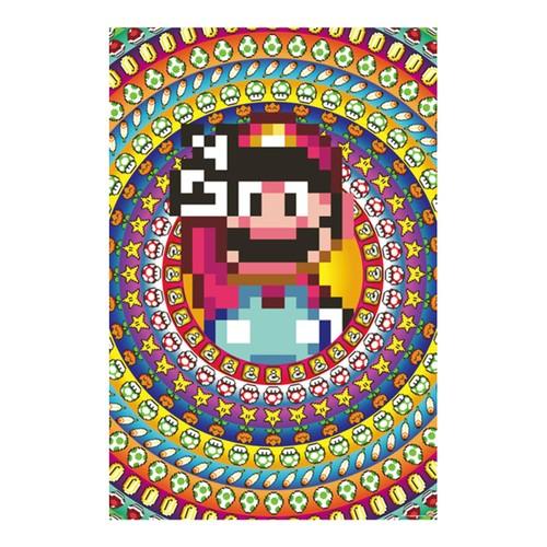"""Mario Item Collage 24"""" x 36"""" Poster"""