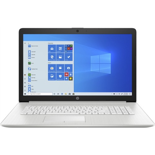 """HP 17-BY2006 17.3"""" 512GB Win10,Natural Silver (Certified Refurbished)"""