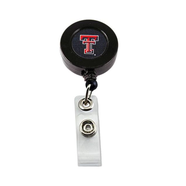 Texas Tech Raiders Retractable Badge Reel Id Ticket Clip