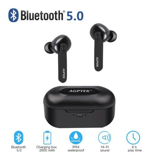 WIRELESS TWS TRUE BLUETOOTH TWINS STEREO IN-EAR EARPHONE HEADSET EARBUDS