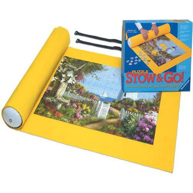 Stow and Go Puzzle Mat, More Puzzles by Ravensburger