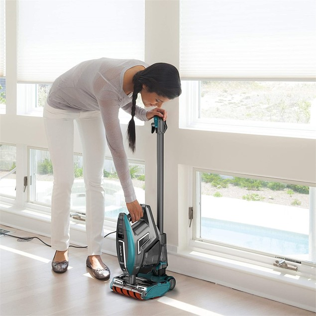 Shark APEX DuoClean Vacuum (ZS362), Forest Mist Blue (Used - Good)