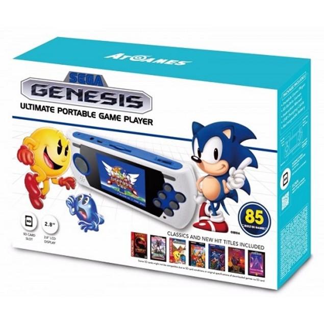 Sega Genesis Ultimate Portable Game Player (2018 Version) - AtGames