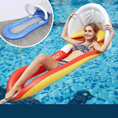 Water Inflatable Hammock Sofa Floating Bed Foldable Tent