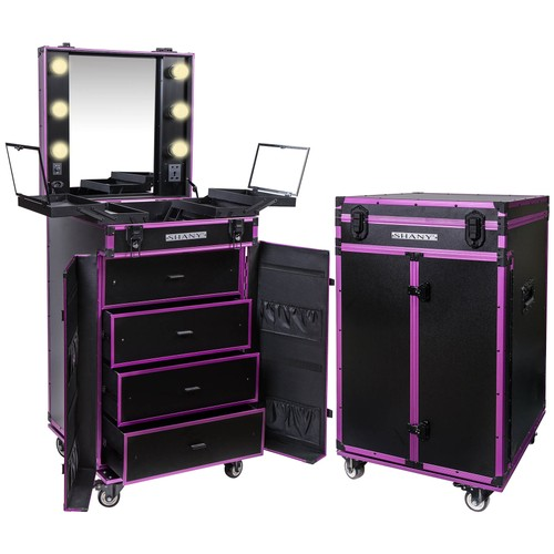 SHANY Light-Up Makeup Mirror Station