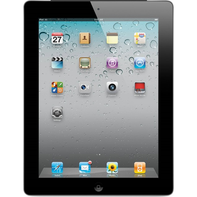 "Apple 9.7"" iPad 2 MC769LL/A (16GB, WiFi) - Black"