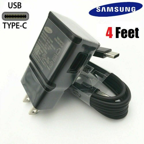 OEM Samsung Galaxy S8 S9 S10+ Note 8 OEM Fast Adaptive Charger Type-C Cable