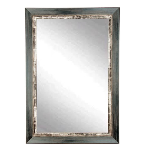 """BrandtWorks Perfect Weathered Harbor Wall Mirror - 22"""" x 32"""""""
