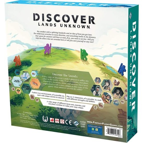 Discover: Lands Unknown - A Strategy Game of Exploration and Survival - $60 at Barnes and Noble