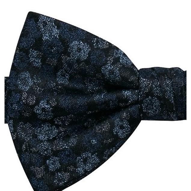 Ryan Seacrest Distinction Men's Broxburn Floral Bow Tie Blue Size Regular