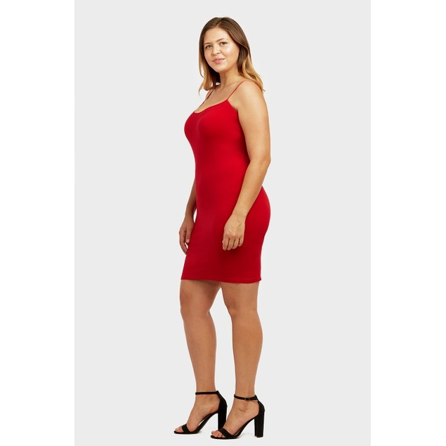 2-Pack: Seamless Camisole Dress (Plus Size Available)