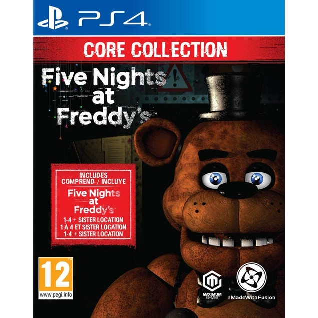 Five Nights at Freddy's Core Collection PS4 Game