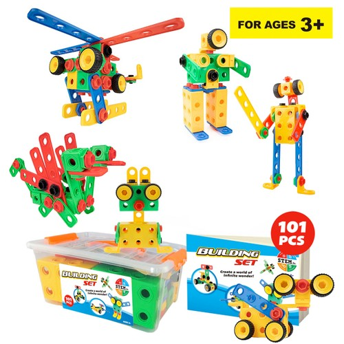 Zummy  Educational Construction Building Sets Toys for Kids  ( 101 Pieces )