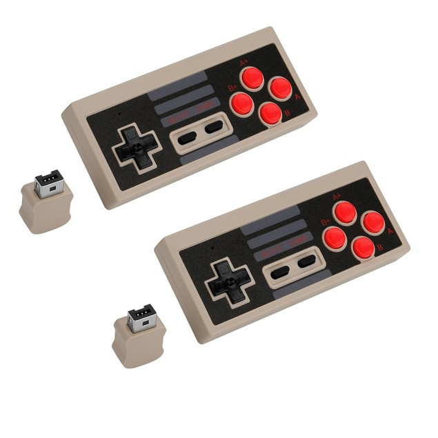 WIRELESS GAME CONTROLLER  NES CLASSIC EDITION WIRELESS JOYPAD WITH RECEIVER