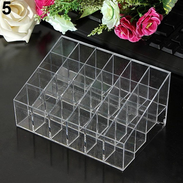 40/24 Lipstick Brush Storage Stand Holder Makeup Cosmetic Organizer
