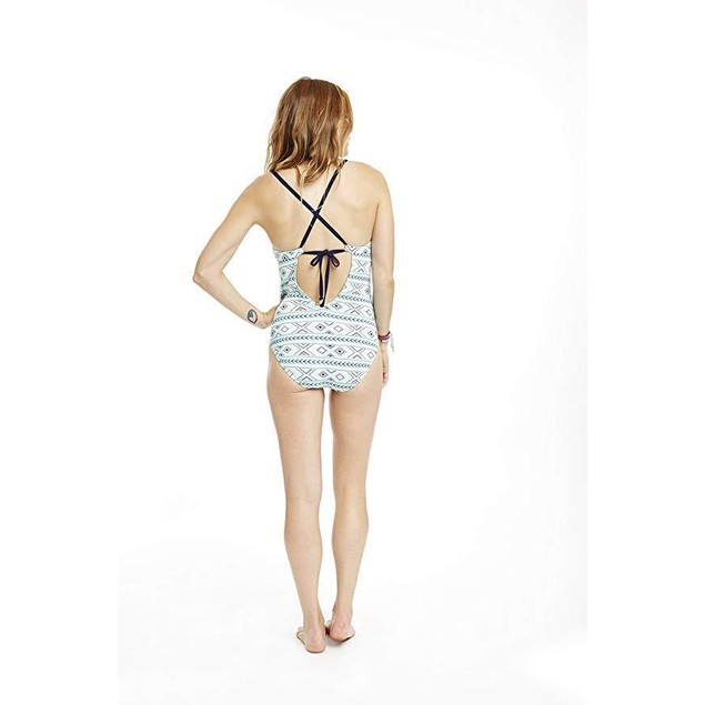 CARVE Designs Women's Nosara Full Piece Swimsuit, Pool Bali, X-Small