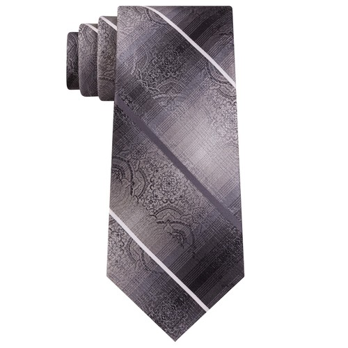 Van Heusen Men's The Girbaran Medallion Tie Black Size Regular