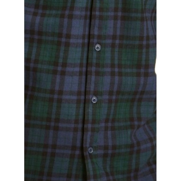 Levi's Men's Plaid Collared Work Dress Navy Size 2 Extra Large