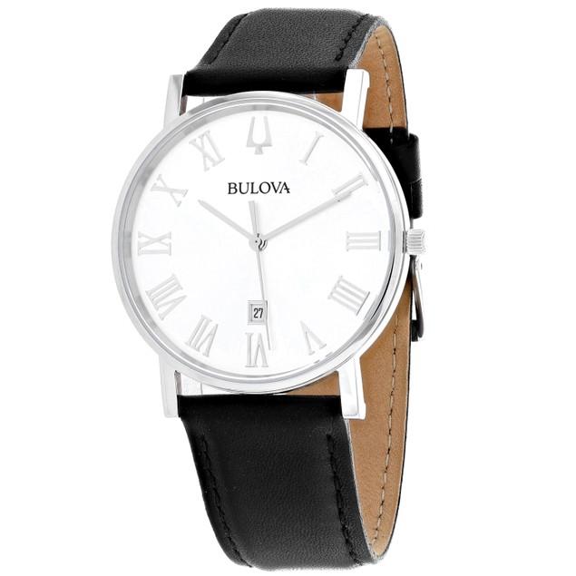 Bulova Men's American Clipper White Dial Watch - 96B312