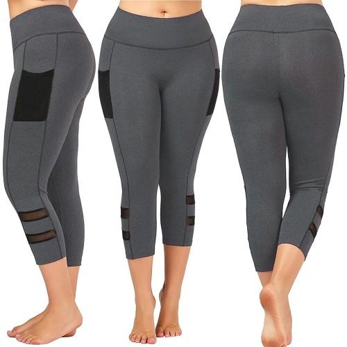 Women Plus Size High Waist Yoga Pants
