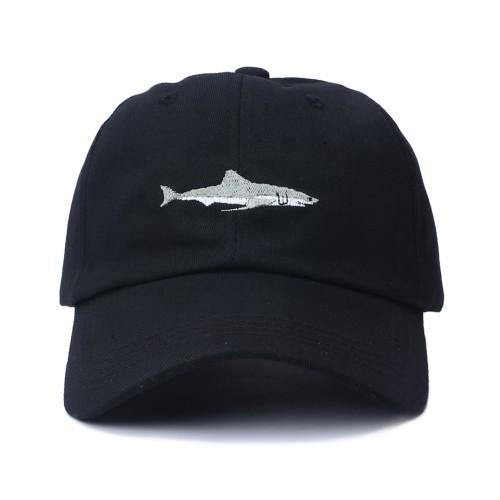 Unisex Shark Embroidery Baseball Cap