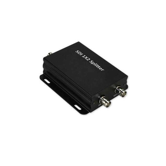 SDI Splitter 3G-SDI HD-SDI SD-SDI Signals 1 input 2 outputs w/ AC adapter