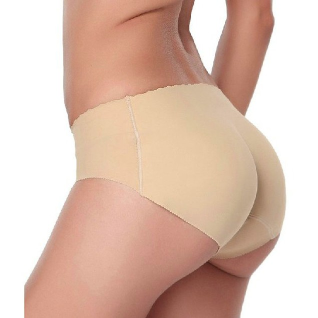 Lady Padded Seamless Butt Hip Enhancer Shaper Panties Underwear