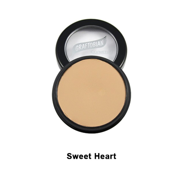 Sweet Heart HD Glamour Creme Foundation 5 oz. Graftobian Cruelty Free USA