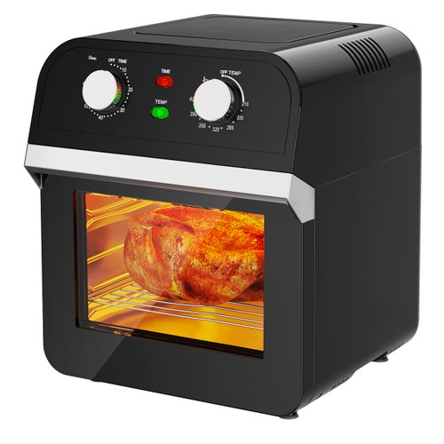 Costway 12.7QT Air Fryer Oven 1600W Rotisserie Dehydrator Convection Oven w