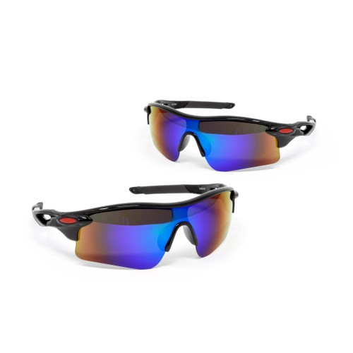 2-Pack: ZeroDark HD Tactical Sport Sunglasses