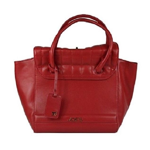 Wmns Joe's Jeans Superior Turn Lock Satchel Style Tote Handbag