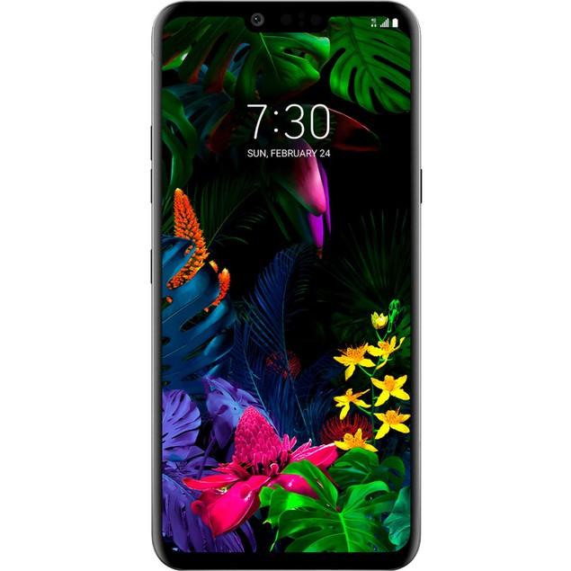 LG G8 ThinQ, AT&T, Black, 128 GB, 6.1 in Screen
