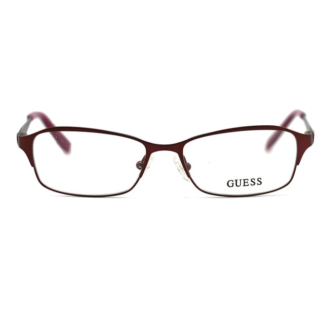 Guess Women's Eyeglasses GU2424 BU Burgundy 51 15 135 Full Rim