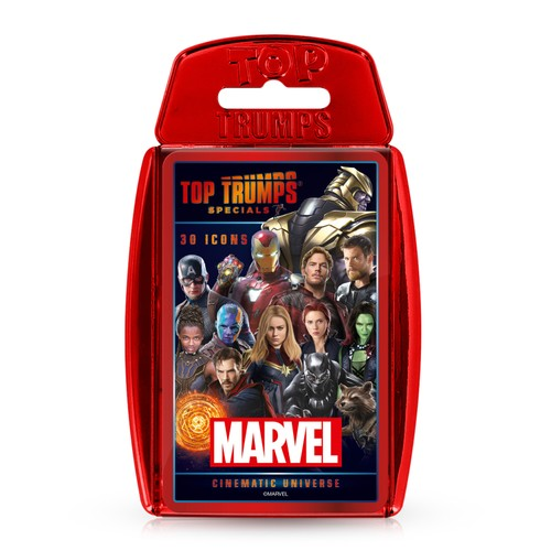 Marvel Cinematic Top Trumps Specials Card Game