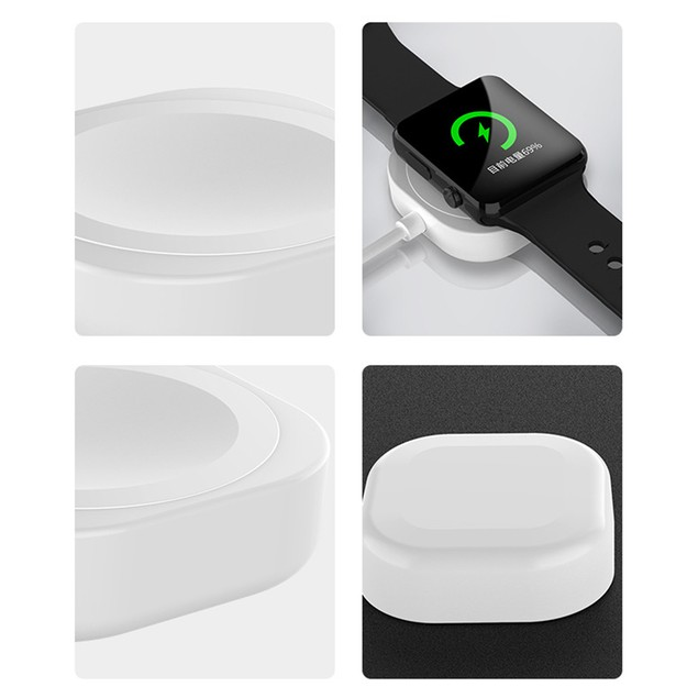 Wireless Charger Portable Magnetic Square  Dock Station for Apple Watch