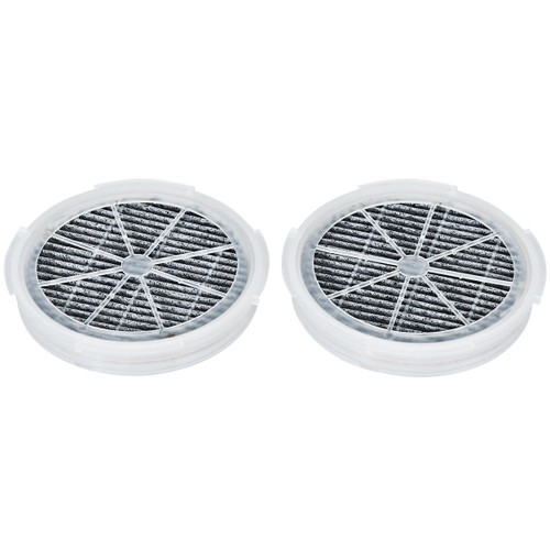 Costway 2Pcs Air Purifier Replacement Filter True HEPA & Activated Carbon F