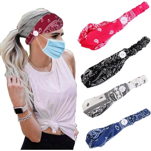 Multi-Use Unisex Headband to Hold Mask *Randomized Colors*