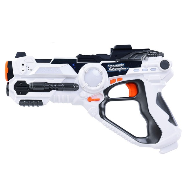 Costway Set of 4 Infrared Laser Tag Guns Indoor Outdoor 4 Players Team Grou