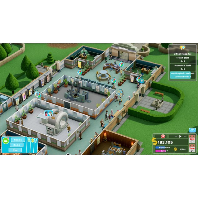 Two Point Hospital Nintendo Switch Game