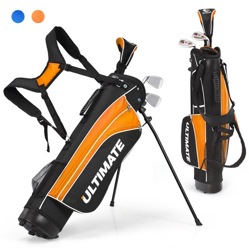 """Ultimate 28"""" Portable Junior Complete Golf Club Set for Kids Age 8+"""