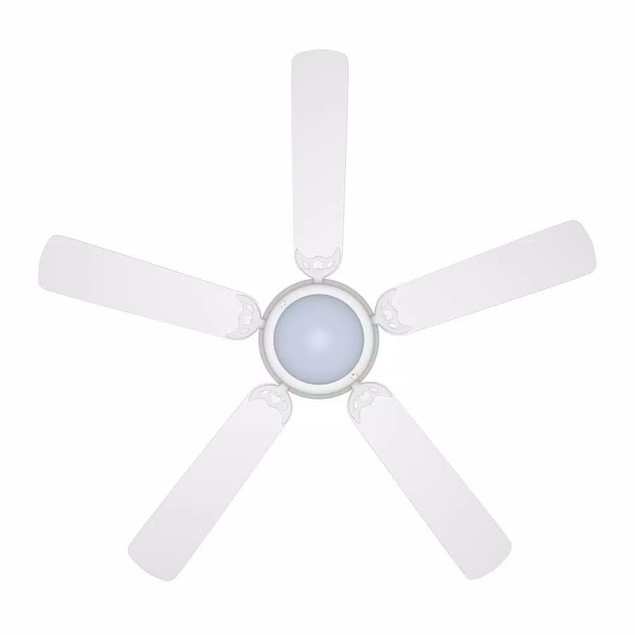 Hampton Bay Trice 52 in. LED Ceiling Fan with 5 Reversible Blades, Matte