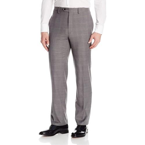 Tommy Hilfiger Men's Glen Plaid Pant Gray Size 38x30