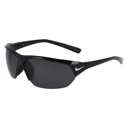 Nike Men Sunglasses NKEV0527 010 Black 71 7 125 Wraparound Black Polarized made in Italy